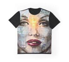 White Marilyn Graphic T-Shirt