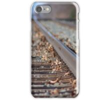 Tracks to the Future iPhone Case/Skin