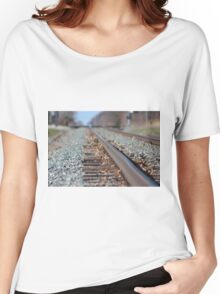 Tracks to the Future Women's Relaxed Fit T-Shirt