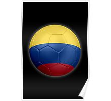 Columbia - Columbian Flag - Football or Soccer 2 Poster