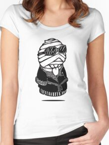 Invisible Boy Women's Fitted Scoop T-Shirt
