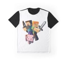 Minecraft Cool Design Graphic T-Shirt