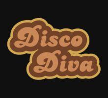 Disco Diva - Retro 70s - Logo One Piece - Long Sleeve
