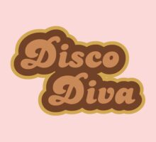 Disco Diva - Retro 70s - Logo Kids Tee