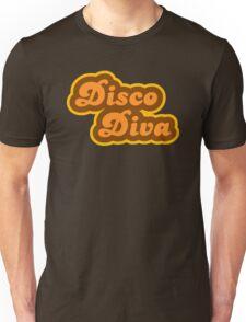 Disco Diva - Retro 70s - Logo Unisex T-Shirt