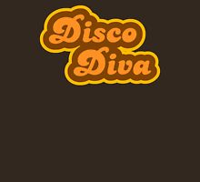 Disco Diva - Retro 70s - Logo Womens Fitted T-Shirt
