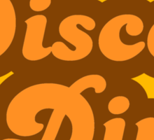 Disco Diva - Retro 70s - Logo Sticker