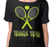 Tennis team Chiffon Top
