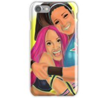 Bayley + Sasha Banks iPhone Case/Skin