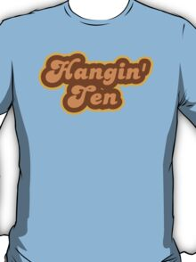 Hangin' Ten - Retro 70s - Logo T-Shirt