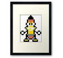 Pixel Woody Framed Print