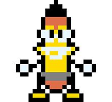 Pixel Woody Photographic Print