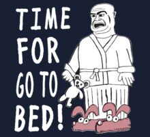 Time For Go To Bed Baby Tee