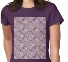 apple blossoms 12 pattern Womens Fitted T-Shirt