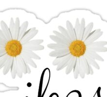 Good Vibes Daisy Sticker