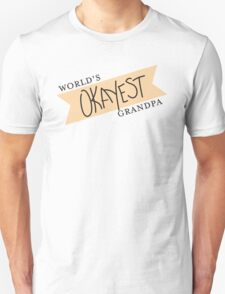 World's Okayest Grandpa T-Shirt