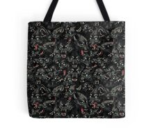 Wolf Pack Pattern Tote Bag