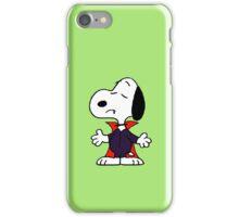 snoopy dracula iPhone Case/Skin