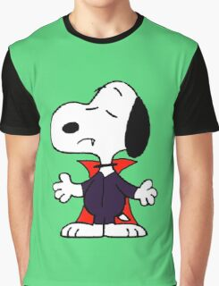 snoopy dracula Graphic T-Shirt