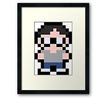 Pixel Lester Framed Print