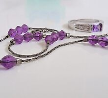 Purple Bling by Judi Rustage