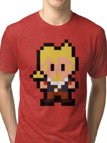 Pixel Guybrush Threepwood Tri-blend T-Shirt