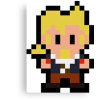 Pixel Guybrush Threepwood Canvas Print