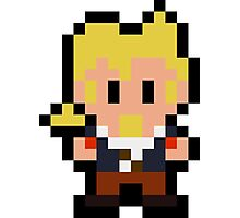 Pixel Guybrush Threepwood Photographic Print