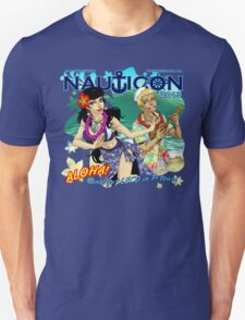 Nauticon 2013 - ALOHA! Come get LEI'D in P-town! [with DATE & LOCATION] T-Shirt