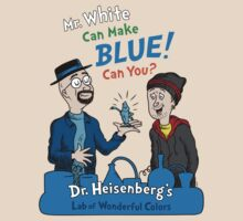 Mr. White Can Make Blue! by mikehandyart