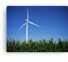 Fields of Green Energy Canvas Print