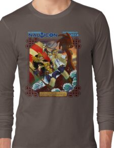Nauticon 2014 - VIKINGS & VALKYRIES [with DATE & LOCATION] Long Sleeve T-Shirt