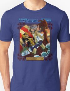 Nauticon 2014 - VIKINGS & VALKYRIES [with DATE & LOCATION] T-Shirt