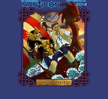 Nauticon 2014 - VIKINGS & VALKYRIES [with DATE & LOCATION] Unisex T-Shirt