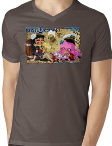 Nauticon 2012 - What HAPPENS in P-town... [with DATE & LOCATION] Mens V-Neck T-Shirt
