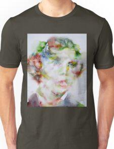 LEWIS CARROLL - watercolor portrait.2 Unisex T-Shirt