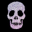The Flower Skull - black #1 by MonsterMan