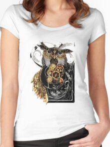 Steampunk wisdom Women's Fitted Scoop T-Shirt