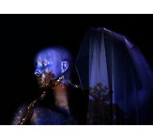 Blue Mood Photographic Print