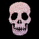 The Flower Skull - black #2 by MonsterMan