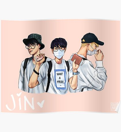 jin airport fashion Poster