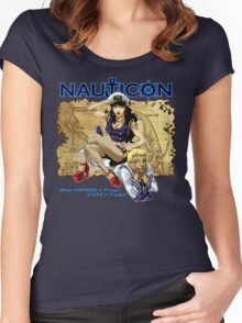 Nauticon 2012 - The Voyage Begins! Women's Fitted Scoop T-Shirt
