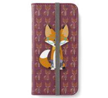 Hipster Fox iPhone Wallet/Case/Skin