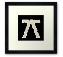 Luck Rune Collection Framed Print