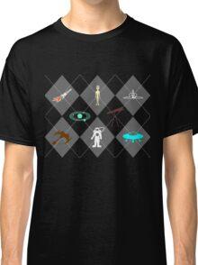 Space Explorer Argyle Classic T-Shirt