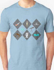 Space Explorer Argyle Unisex T-Shirt