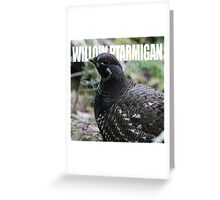 Alaska - Willow Ptarmigan Greeting Card