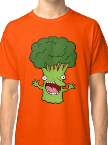 Funny broccoli design for vegetarians Classic T-Shirt