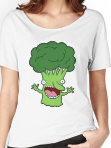 Funny broccoli design for vegetarians Women's Relaxed Fit T-Shirt