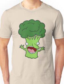 Funny broccoli design for vegetarians Unisex T-Shirt